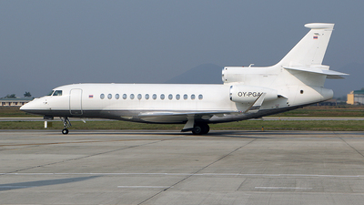 OY-PGA - Dassault Falcon 7X - Air Alsie