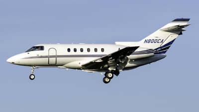 N800CA - Hawker Beechcraft 800XP - Private