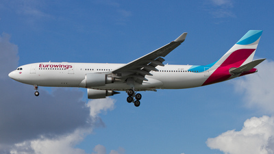 A7-AFP - Airbus A330-203 - Eurowings