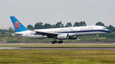 B-2813 - Boeing 757-28S - China Southern Airlines