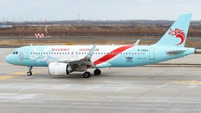 A picture of B306A - Airbus A320251N - Loong Air - © zhangmx969