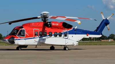 A picture of PRCGF - Sikorsky S92A Helibus - CHC Helikopter Service - © Eduardo Jeppesen / Equipe GIG ao vivo