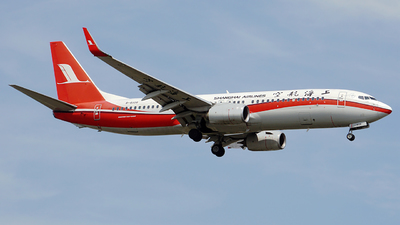 B-6108 - Boeing 737-89P - Shanghai Airlines
