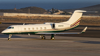 N922CB - Gulfstream G450 - Private