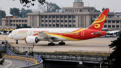 A picture of B2730 - Boeing 7878 Dreamliner - Hainan Airlines - © Louis.Lien