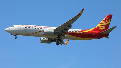 A picture of B5439 - Boeing 737808 - Hainan Airlines - © Nishinomiya
