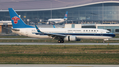 A picture of B1717 - Boeing 73781B - China Southern Airlines - © YangZhang