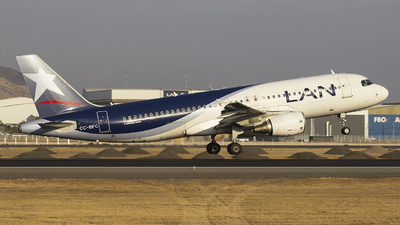 CC-BFC - Airbus A320-214 - LAN Airlines