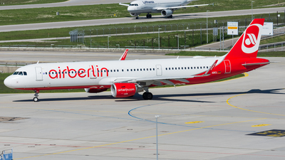 D-ABCL - Airbus A321-211 - Air Berlin