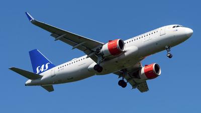 A picture of SEROE - Airbus A320251N - SAS - © Sebastian Thiel