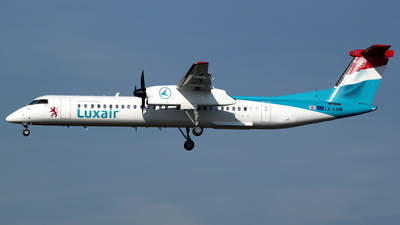 LX-LGM - Bombardier Dash 8-Q402 - Luxair - Luxembourg Airlines
