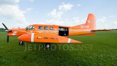 A picture of OKSKW - Pacific Aerospace P750 XSTOL - [128] - © Tadeas Kubasta