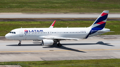 A picture of PRTYA - Airbus A320214 - LATAM Airlines - © danilosantos