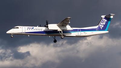 A picture of JA841A - De Havilland Canada Dash 8400 - All Nippon Airways - © Hiro