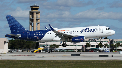 N709JB - Airbus A320-232 - jetBlue Airways