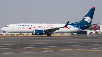 XA-MAG - Boeing 737-8 MAX - Aeromexico