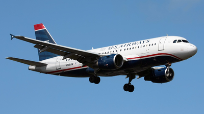 N705UW - Airbus A319-112 - US Airways