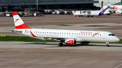 OE-LWM - Embraer 190-200LR - Austrian Airlines