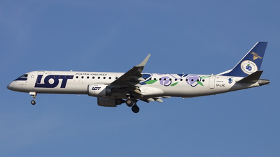 SP-LNC - Embraer 190-200LR - LOT Polish Airlines