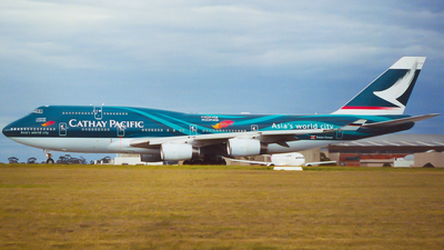 B-HOY - Boeing 747-467 - Cathay Pacific Airways