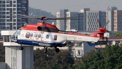 B-7956 - Eurocopter AS 332L Super Puma - China Offshore Helicopter Service Corporation (COHC)