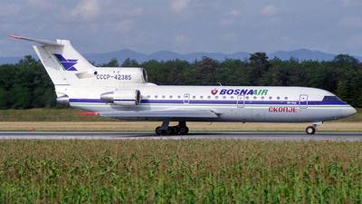 CCCP-42385 - Yakovlev Yak-42D - BosnaAir