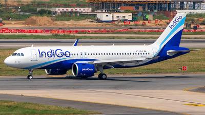 VT-ISJ - Airbus A320-271N - IndiGo Airlines