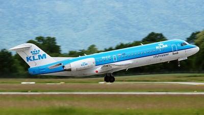 PH-KZF - Fokker 70 - KLM Cityhopper