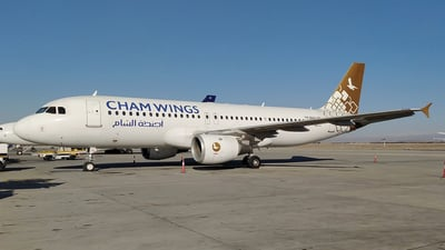 YK-BAG - Airbus A320-211 - Cham Wings Airlines