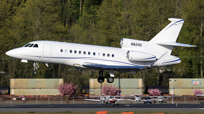 N82HD - Dassault Falcon 900LX - Private