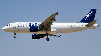 A picture of APEDA - Airbus A320214 - AirBlue - © Shajie Hussain