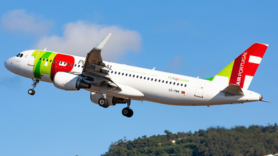A picture of CSTMW - Airbus A320214 - TAP Air Portugal - © Nelson Sousa