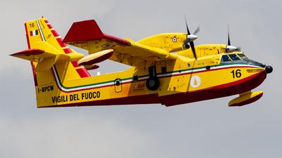 I-DPCW - Canadair CL-415 - Italy - Vigili del Fuoco