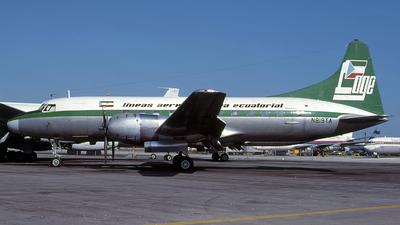 N819TA - Convair CV-440 - Lineas Aereas Guinea Ecuatorial