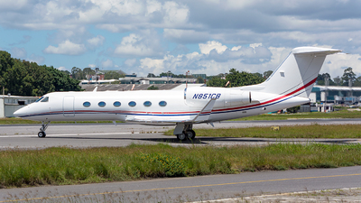 N851CB - Gulfstream G450 - Private