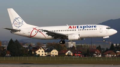 OM-BEX - Boeing 737-382 - Air Explore