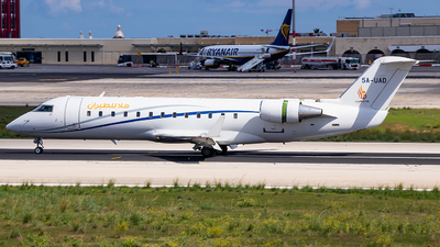 5A-UAD - Bombardier CL-600-2B19 Challenger 850 - Hala Air
