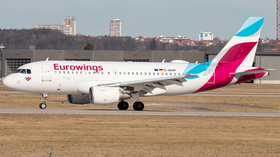 D-AKNP - Airbus A319-112 - Eurowings
