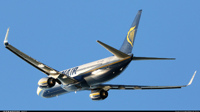 EI-DYS - Boeing 737-8AS - Ryanair