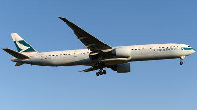 B-KQK - Boeing 777-367ER - Cathay Pacific Airways