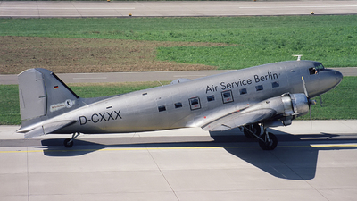 D-CXXX - Douglas DC-3C - Air Service Berlin