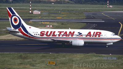 TC-JTB - Boeing 737-3G7 - Sultan Air