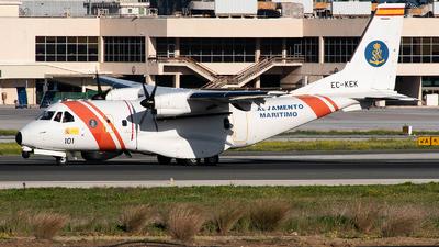 EC-KEK - CASA CN-235-300 - Spain - Sociedad de Salvamento y Seguridad Marítima (SASEMAR)