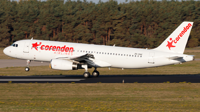 ZS-GAZ - Airbus A320-232 - Corendon Airlines (Global Aviation)