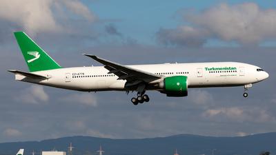 EZ-A778 - Boeing 777-22KLR - Turkmenistan Airlines