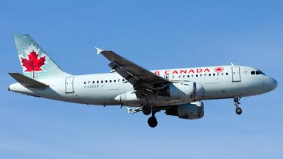 A picture of CGAQX - Airbus A319114 - Air Canada - © Wayne Wilson