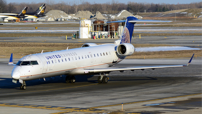 N508MJ - Bombardier CRJ-701 - United Express (Mesa Airlines)