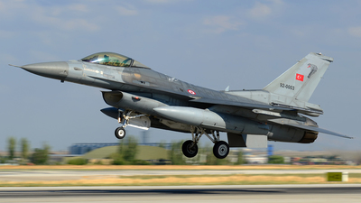 92-0003 - Lockheed Martin F-16C Fighting Falcon - Turkey - Air Force