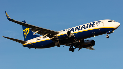 A picture of EIENR - Boeing 7378AS - Ryanair - © kevin.hackert
