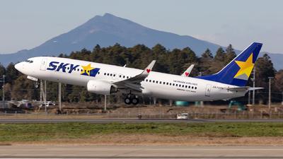 A picture of JA737R - Boeing 73786N - Skymark Airlines - © Sebastian Sowa